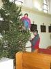 Vánoční zdobení kostela 2014